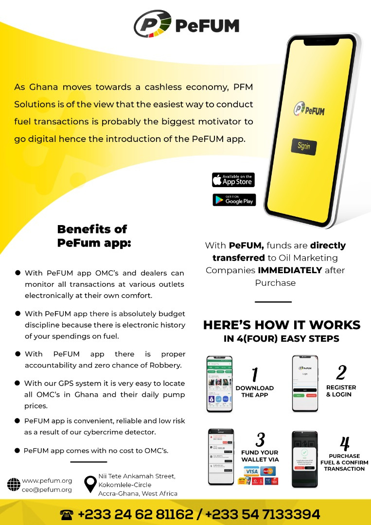 Pefum application ad